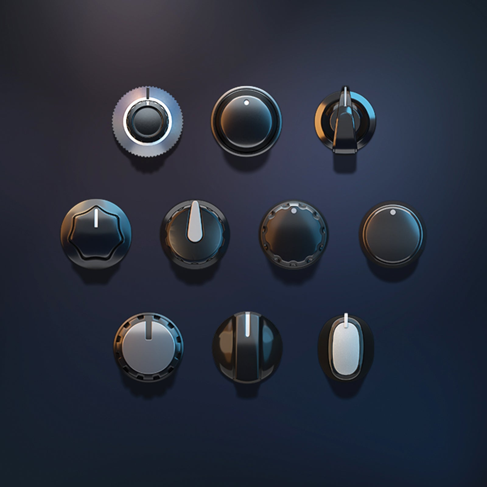 3D knobs audio set vol. 2