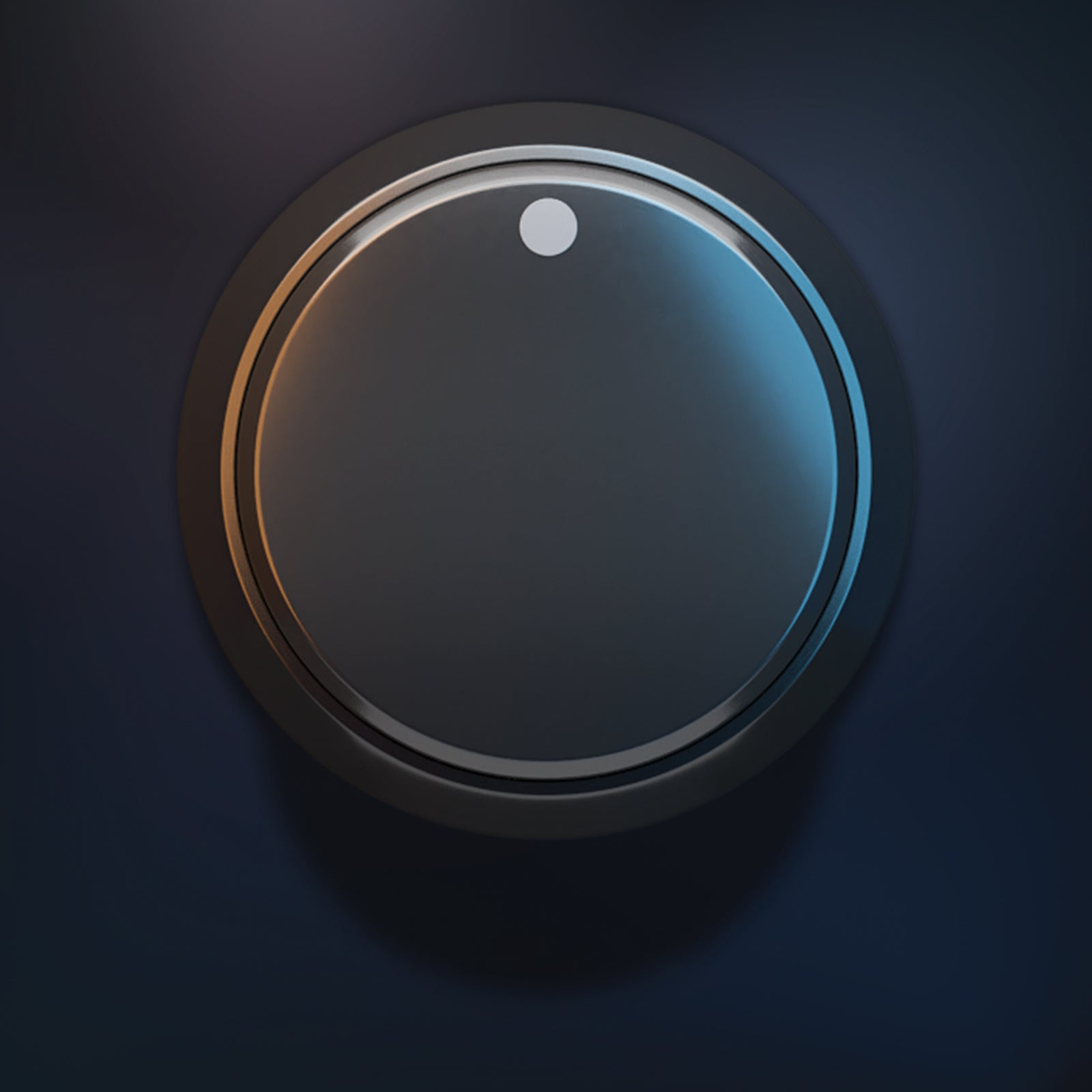 Standart knob audio 3D model UI