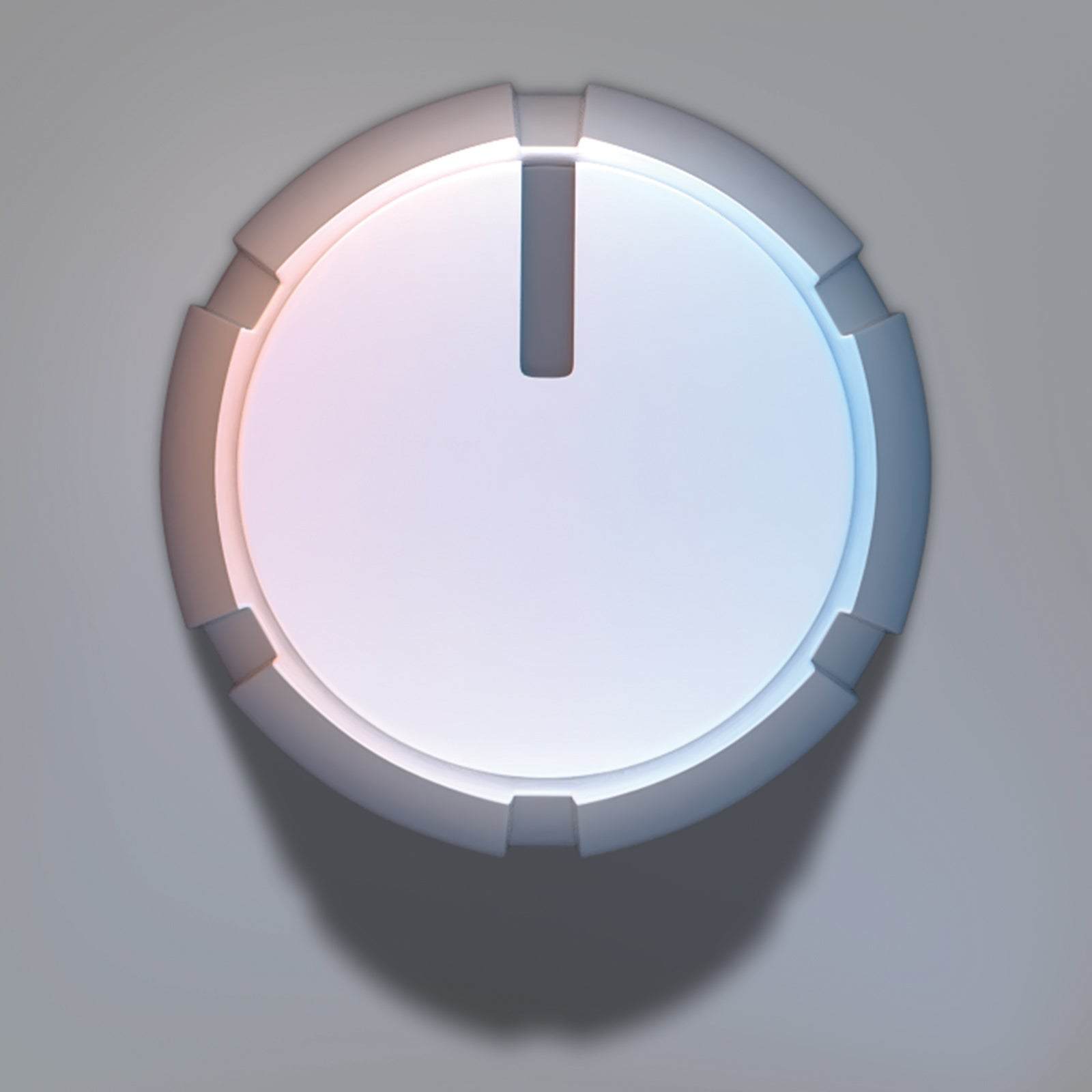Audio volume control knob 3D model