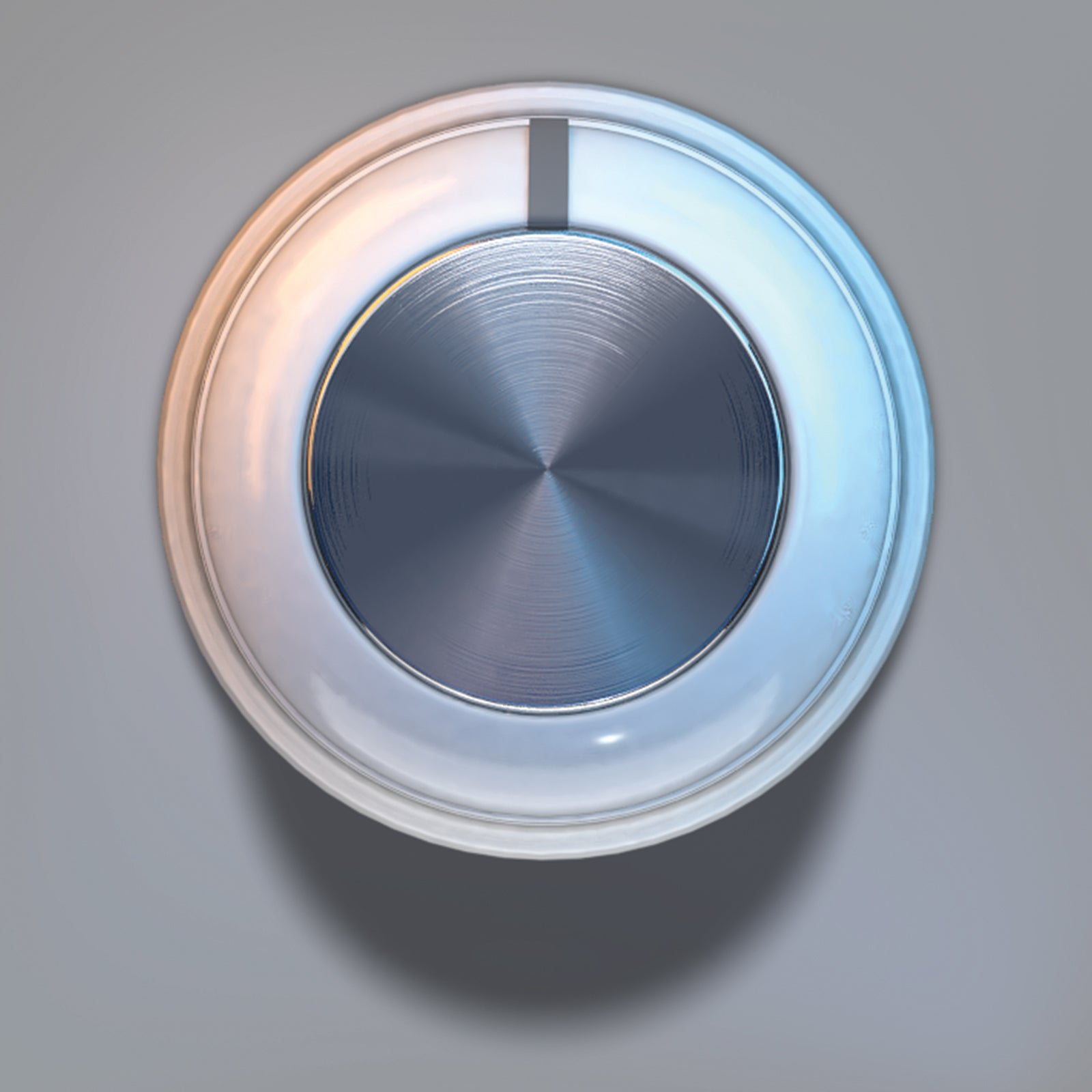 Metal light volume knob 3D