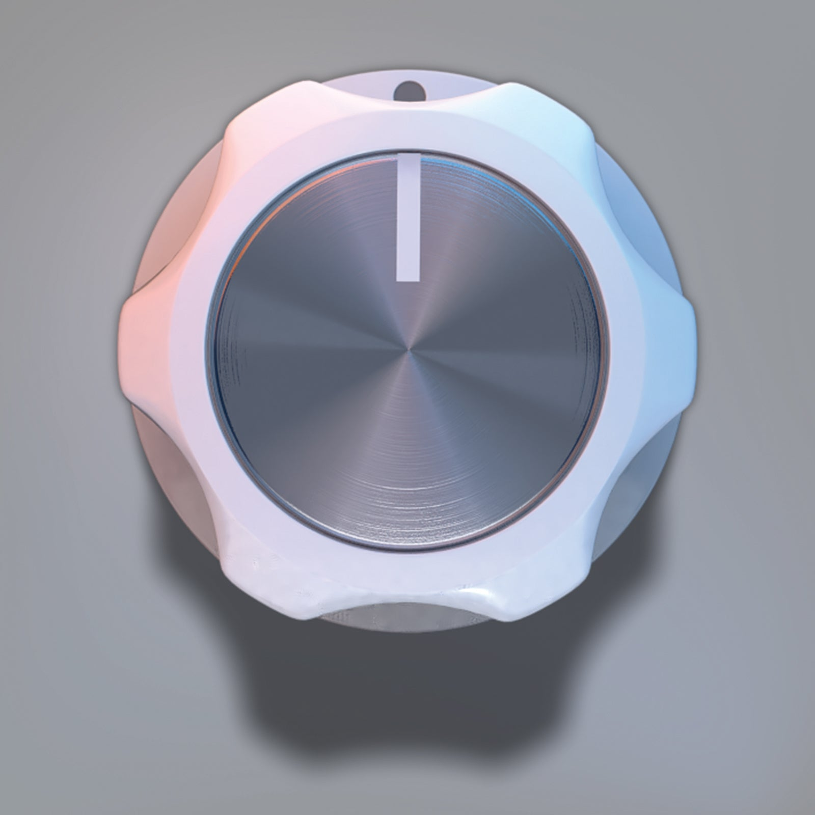 Combined rotary knob 3D model