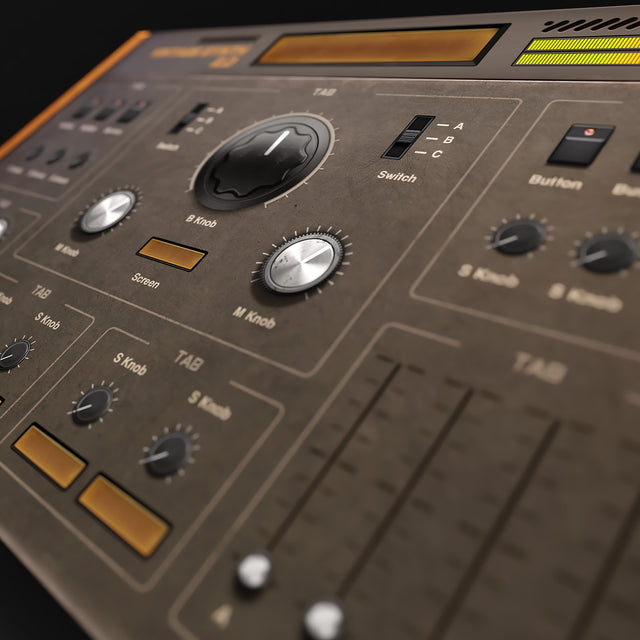 Vintage Synth kit preview