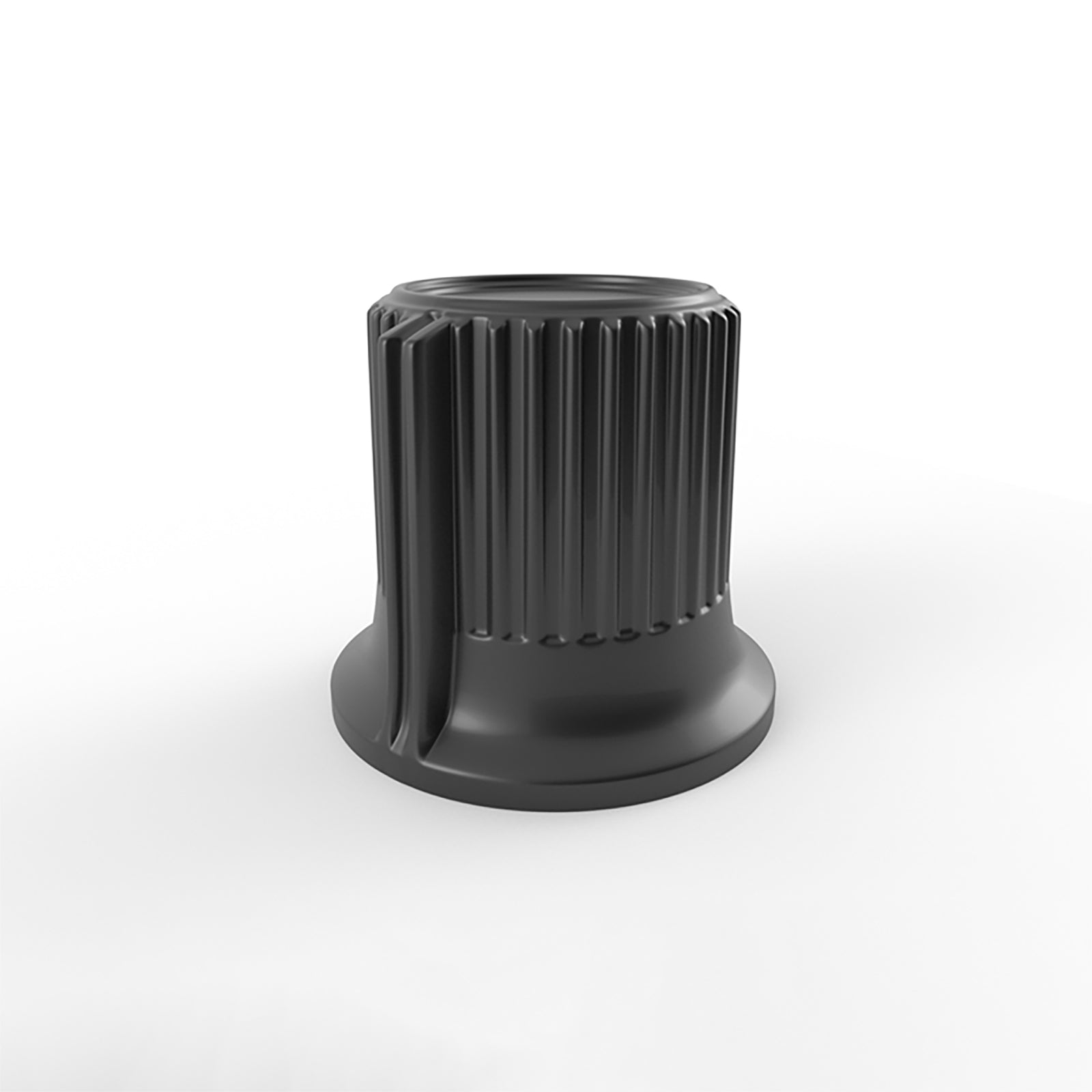standart ribbed audio knob 3d model v2