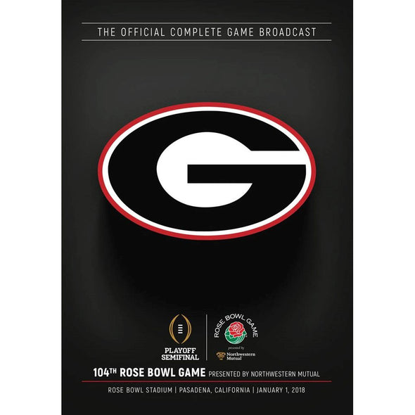 2018 CFP Rose Bowl DVD