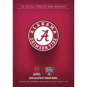 2018 CFP Allstate Sugar Bowl DVD