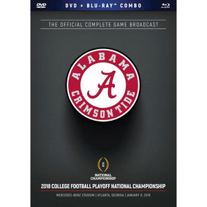 2018 CFP National Championship DVD & Blu-Ray™ Combo