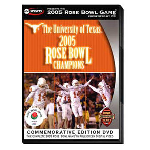 2005 Rose Bowl: Texas vs. Michigan DVD
