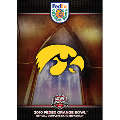 2010 FedEx Orange Bowl: Iowa vs. Georgia Tech DVD