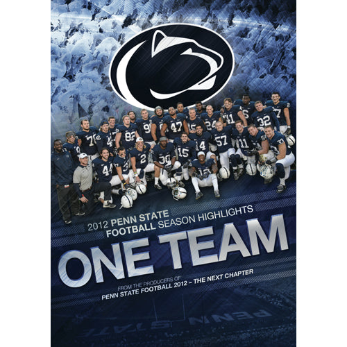 One Team: 2012 Penn State Football Season Highlights DVD