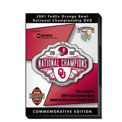 2001 Orange Bowl: Oklahoma vs. Florida State DVD