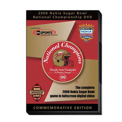 2000 Sugar Bowl: Florida State vs. Virginia Tech DVD