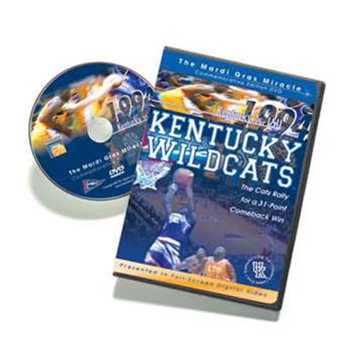 1994 Kentucky vs. LSU Game: The Mardi Gras Miracle DVD
