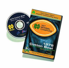 1978 Cotton Bowl: National Championship Game: Notre Dame vs. Texas DVD