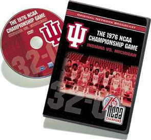 1976 NCAA Championship Game: Indiana vs. Michigan DVD