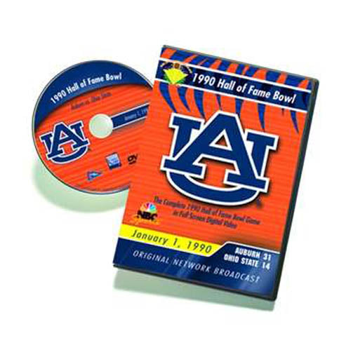 1990 Hall of Fame Bowl: Auburn vs. Ohio State DVD