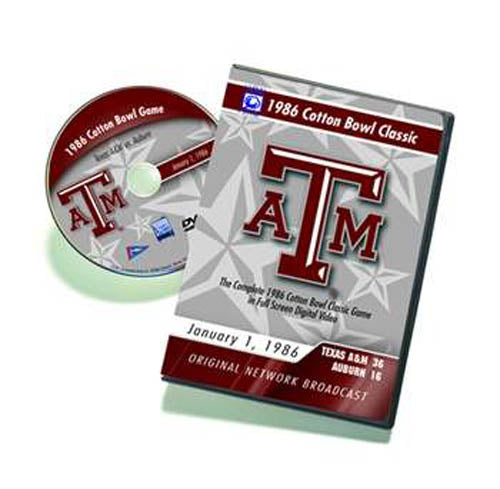 1986 Cotton Bowl: Texas A&M Classics DVD