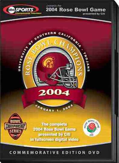 2004 Rose Bowl: USC vs. Michigan DVD