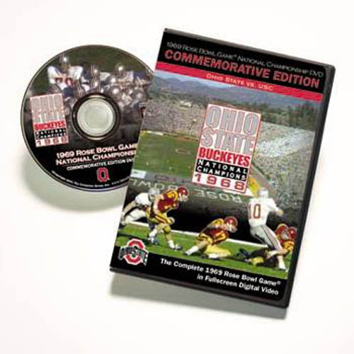 1969 Rose Bowl: Ohio State National Championship DVD