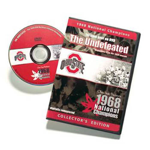 1968 The Undefeated Ohio State DVD