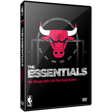 NBA Essential Games of the Chicago Bulls DVD