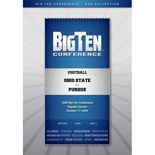 2009 Big Ten Conference Football: Ohio State at Purdue DVD