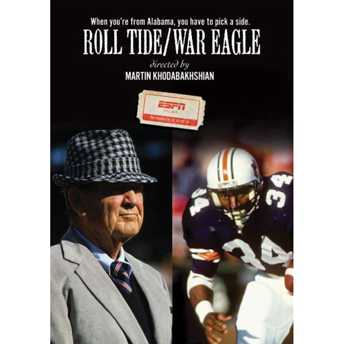 ESPN Films: Roll Tide vs. War Eagle DVD