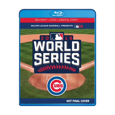 2016 World Series Film DVD, Blu-Ray™, Digital Copy Combo