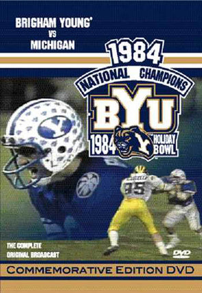 1984 Holiday Bowl National Championship Game DVD