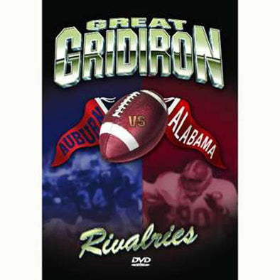 Great Gridiron Rivalries: Alabama vs. Auburn DVD