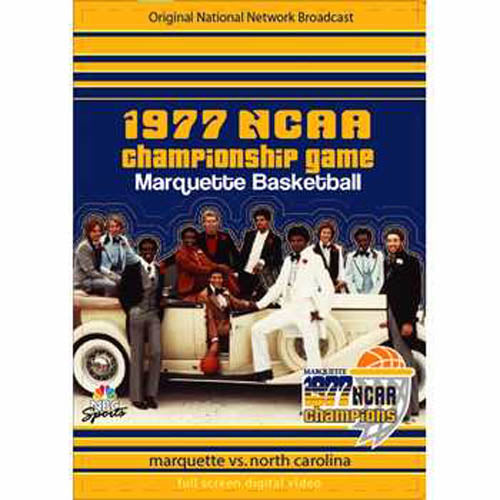 1977 NCAA Championship Game: Marquette vs. North Carolina DVD