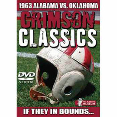 Crimson Classics: 1963 Alabama vs. Oklahoma DVD