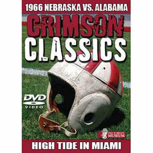 Crimson Classics: 1966 Alabama vs. Nebraska DVD