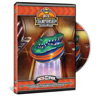 2007 Tostitos BCS National Championship: Florida Gators DVD