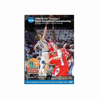 1996 NCAA Chamionship: Kentucky vs. Syracruse DVD
