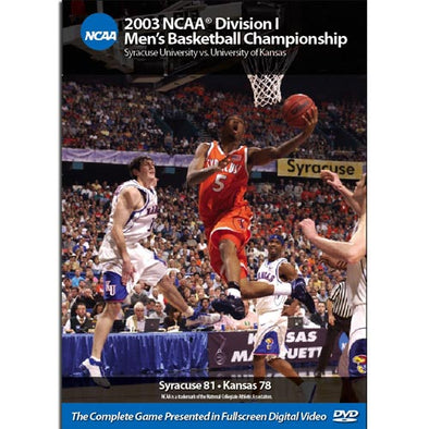 2003 Syracuse vs. Kansas DVD
