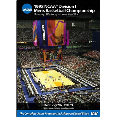 1998 Kentucky vs. Utah DVD