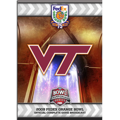 2009 FedEx Orange Bowl: Virginia Tech vs. Cincinnati DVD