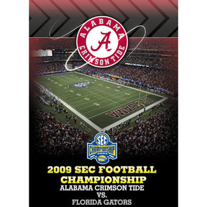 2009 SEC Championship Game: Alabama Crimson Tide vs. Florida Gators DVD