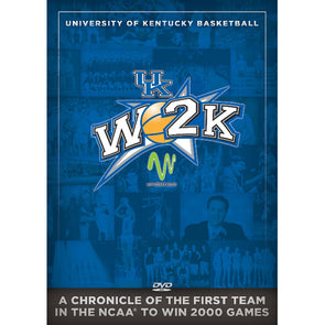 W2K: UK Basketball 2,000 Wins DVD