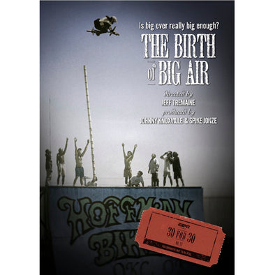 ESPN Films 30 for 30: The Birth of Big Air DVD