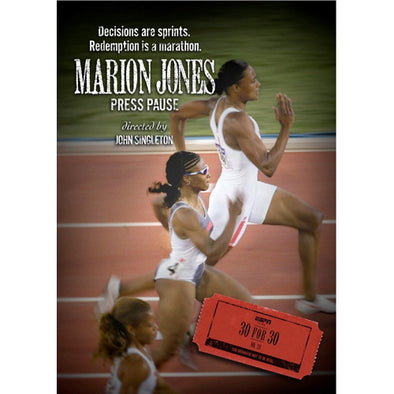 ESPN Films 30 for 30: Marion Jones Press Pause DVD
