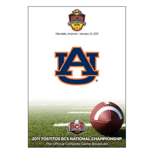 Official 2011 Tostitos BCS National Championship DVD