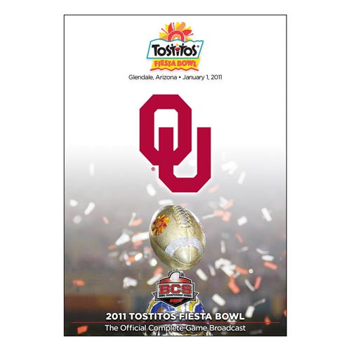 Official 2011 Tostitos Fiesta Bowl DVD