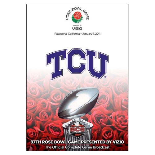 Official 2011 Rose Bowl DVD