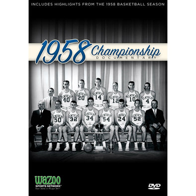 1958 NCAA Men's Basketball Championship: Kentucky vs. Seattle DVD