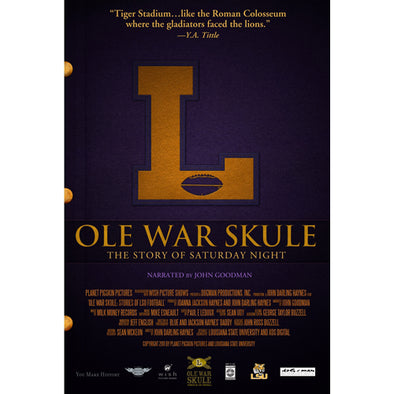 History of LSU Football DVD