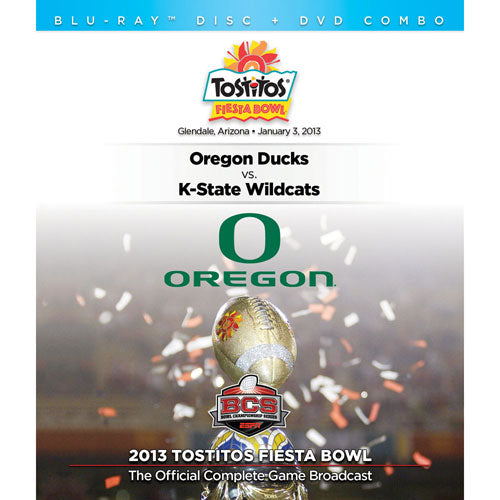 2013 Tostitos Fiesta Bowl: Kansas State vs. Oregon DVD & Blu-Ray™ Combo