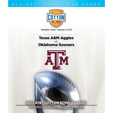 2013 AT&T Cotton Bowl: Oklahoma vs. Texas A&M DVD & Blu-Ray™ Combo