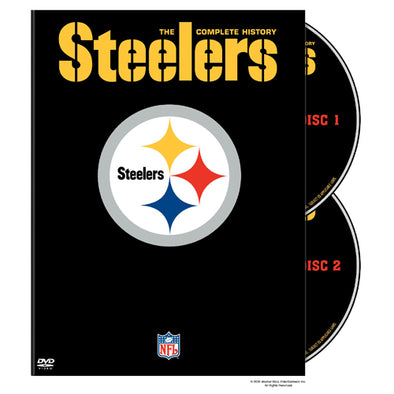 NFL History of the Pittsburgh Steelers DVD