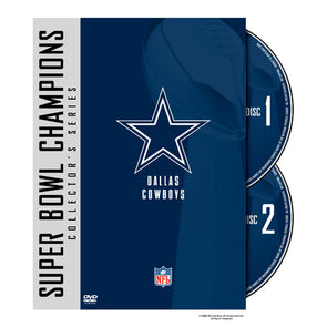 NFL Super Bowl Collection: Dallas Cowboys DVD